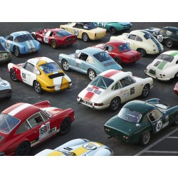 Vintage sport cars at Grand...